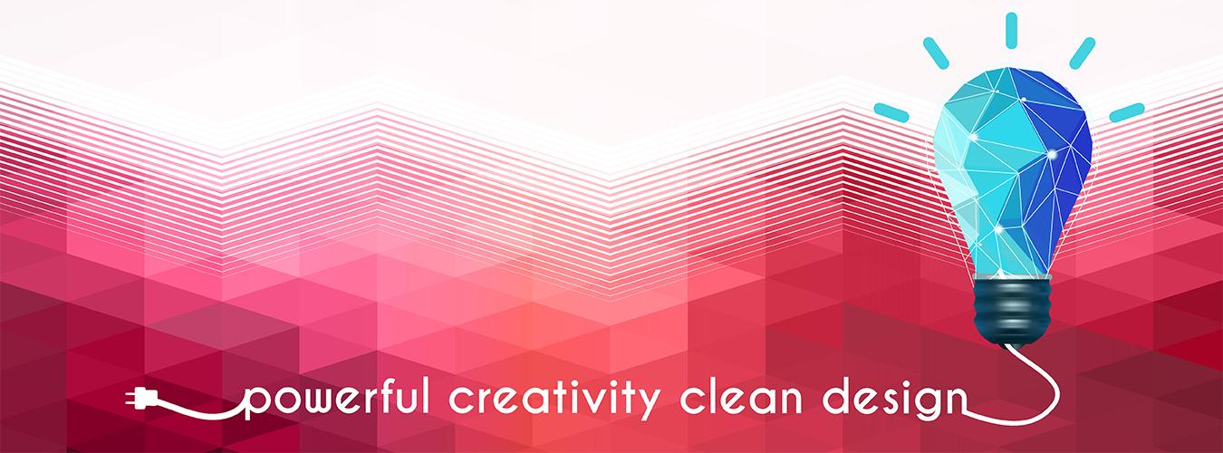Powerful Creativity Clean Design